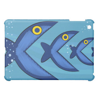 Fish eat fish case for the iPad mini