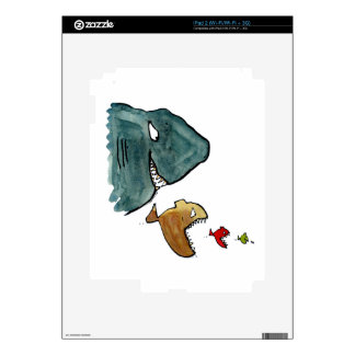 Fish eating fish success and plan skin for the iPad 2