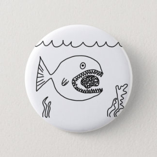 Fish Eats Brain Button