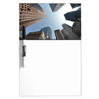 Fish-eye lens of building, Boston, US Dry-Erase Whiteboards