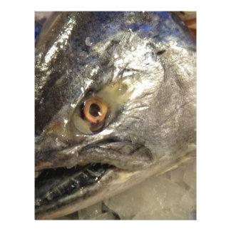 Fish eye custom letterhead