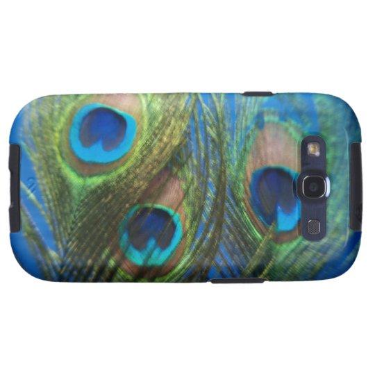 Fish Eye Peacock Still Life Samsung Galaxy S3 Cover