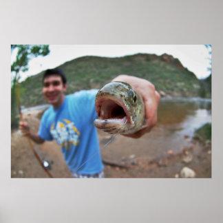 Fish Eye! Poster