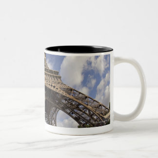 Fish eye shot of Eiffel tower Mug