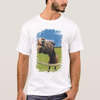 Fish-eye View of Horse T-Shirt