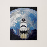 Fish-Eye View of Shuttle Atlantis Jigsaw Puzzle