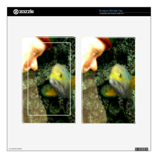 Fish Face Gnome Kindle Fire Skin