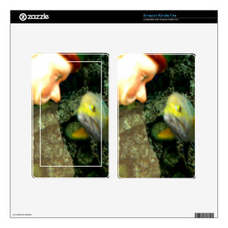 Fish Face gnome Kindle Fire Skins