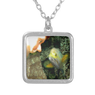 Fish Face Gnome Necklace