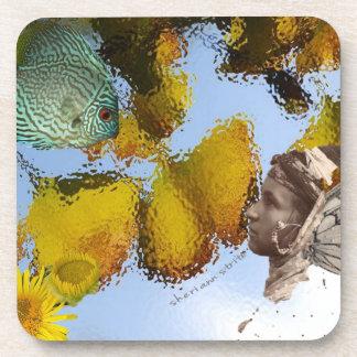 Fish & Faery Coaster