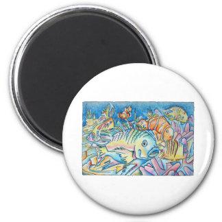 Fish Fantasy Magnet