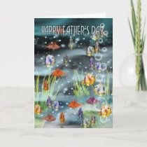 Fish Father's Day Card - Fish Card For Father's Da