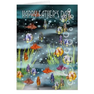 Fish Father's Day Card - Fish Card For Father's Da