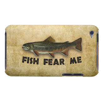 Fish Fear Me Funny Fishing Barely There iPod Cases