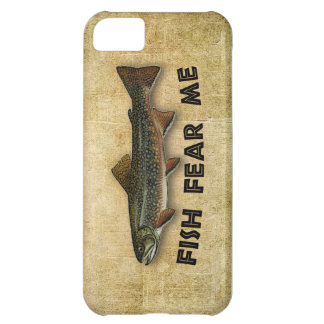 Fish Fear Me Funny Fishing Case For iPhone 5C