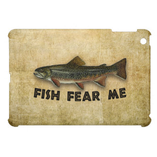 Fish Fear Me Funny Fishing Cover For The iPad Mini