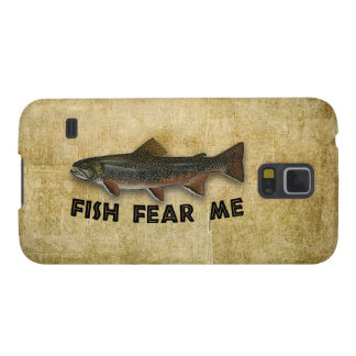 Fish Fear Me Funny Fishing Galaxy S5 Case