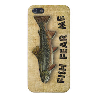 Fish Fear Me Funny Fishing iPhone 5/5S Cases