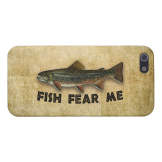 Fish Fear Me Funny Fishing iPhone 5 Cases