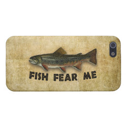 Fish Fear Me Funny Fishing iPhone SE/5/5s Cover