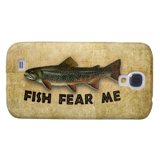 Fish Fear Me Funny Fishing Samsung Galaxy S4 Case