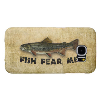 Fish Fear Me Funny Fishing Samsung Galaxy S6 Cases