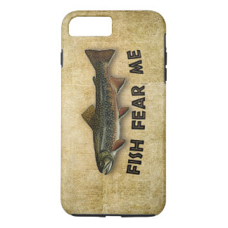Fish Fear Me Funny Fishing Sports and Recreation iPhone 8 Plus/7 Plus Case