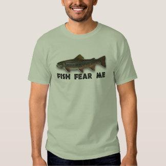 Fish Fear Me Funny Fishing Sports T-shirt