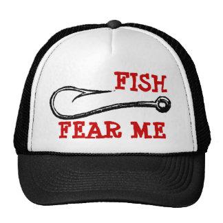 FISH FEAR ME Hook Hat