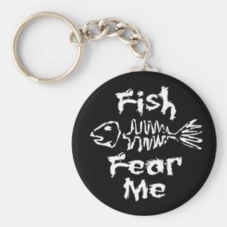 Fish Fear Me Keychain