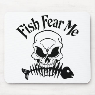 Fish Fear Me Mouse Pad