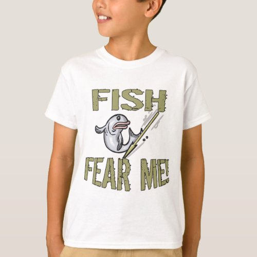 Fish Fear Me T_shirts and Gifts