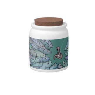 Fish Feeding Frenzy Candy Jar