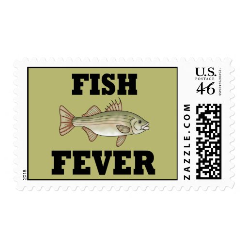Fish Fever Postage Stamps