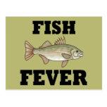 Fish Fever Postcard