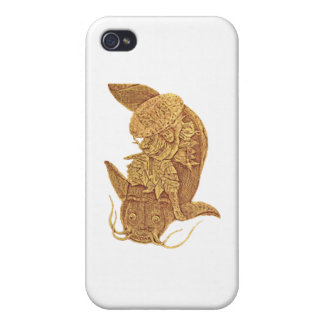 fish fighting iPhone 4 cover