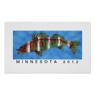 Fish Fillet Minnesota 2012 by Stewart Grange Poster