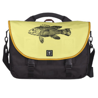 Fish Fisherman Sea Collection Laptop Commuter Bag