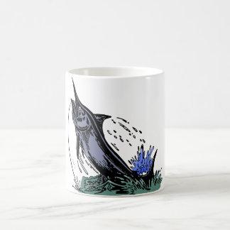 fish fishing rod fish fishing stub coffee mug