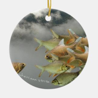 Fish & Fog Ornament