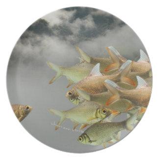 Fish & Fog Plate