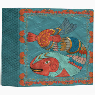 Fish Folk 3 Ring Binder