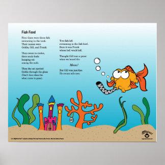"""""""Fish Food"""" Poster"""