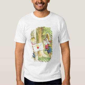 Fish-Footman Delivering an Invitation to a Tee Shirt