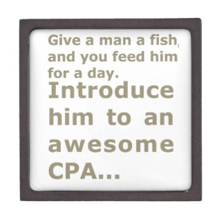 Fish for a day or Awesome CPA Jewelry Box