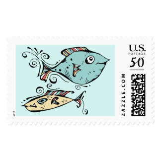 Fish For Gary Postage