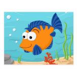 Fish for kids postcard