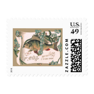 Fish Forget-Me-Not Letter Postage