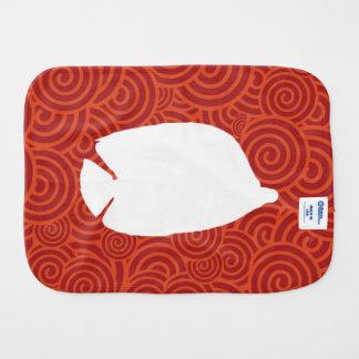 Fish Freshes Minimal Baby Burp Cloths