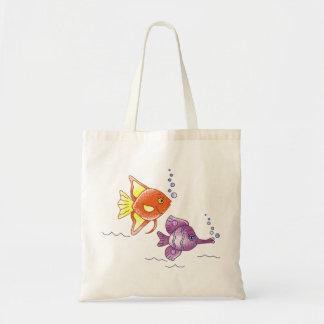 Fish Friends Budget Tote Bag